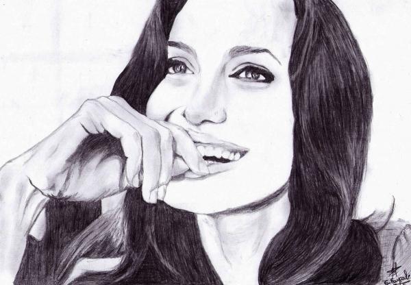 Angelina Jolie by e.faycal